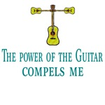 The Power of the Guitar Compels Me
