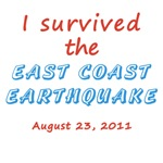 I Survived East Coast Earthquake