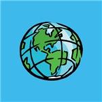 Earth Day Globe Earth Day T Shirt
