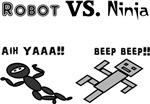Robot Vs. Ninja