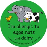 Eggs, nuts and dairy-green