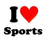 I Heart Sports T Shirts