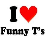 I Heart Funny  T-Shirts