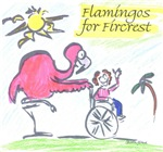 Flamingos for Fircrest