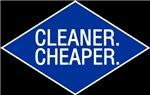 Cleaner / Cheaper