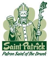 Saint Patrick: Patron Saint of the Drunk