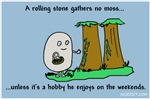 A Rolling Stone Gathers No Moss...