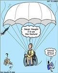 Wheelchair Parachute