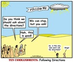 The Cartoon 10 Commandments