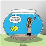 Fishbowl Hard Hat Diver