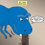T-Rex Touchy