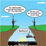 GPS Orienteering Generation Gap