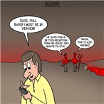 Cell Phone Reception in Hell