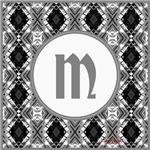 Diamond Silver Monogram