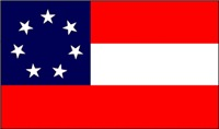 1st Confederate National Flag Men's Clothing