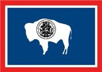 Wyoming State Flag Men's Clothing