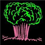 ATOMIC BOMB BLAST green