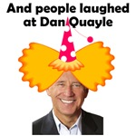 And people laughed at Dan Quayle