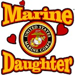 Marine Corp Daughter (USMC Seal)
