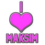 I Heart Maksim (pink)
