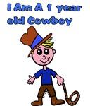 1 year old Cowboy