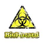 Vintage Bio-Hazard Sign 1