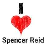 Vintage I Heart Spencer reid