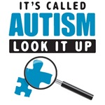 <b>Autism - Look It Up</b><br>(Magnifying Glass)