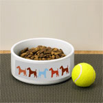 Airedale Dog Bowls