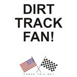 AMERICAN & CHECKERED FLAG<br />DIRT TRACK FAN