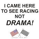 AMERICAN & CHECKERED FLAG<br/>RACING NOT DRAMA
