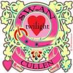 Swan Cullen Twilight Love Crest