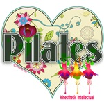 Pilates Fanciful Flowers and Hearts