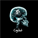 x-ray woman cyclist