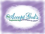 ACIM-Accept Forgiveness
