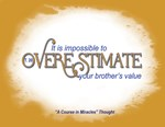 ACIM-Your brother's value