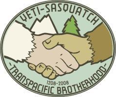 Yeti-Sasquatch Transpacific Brotherhood