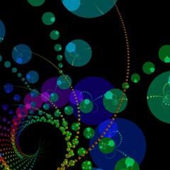 Dance of the Spheres, Rainbow Matrix