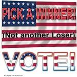 Winning vote
