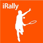Tennis iRally Silhouette