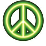 Alien Peace Sign