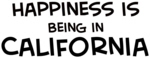 Happiness is California