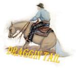 Reining Horse, Draggin Tail