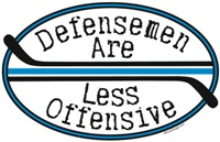 Defensemen Less Offensive