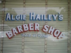 Algie Hailey's Barber Shop